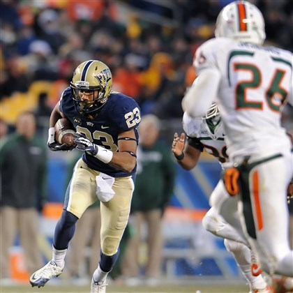 MiamiPittsburgh Pitt's Tyler Boyd caught 85 passes last season.