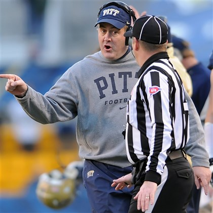20131129mfpittsports06 With a likely bowl game still to play, Paul Chryst is 12-1-3 in his first two seasons at Pitt.