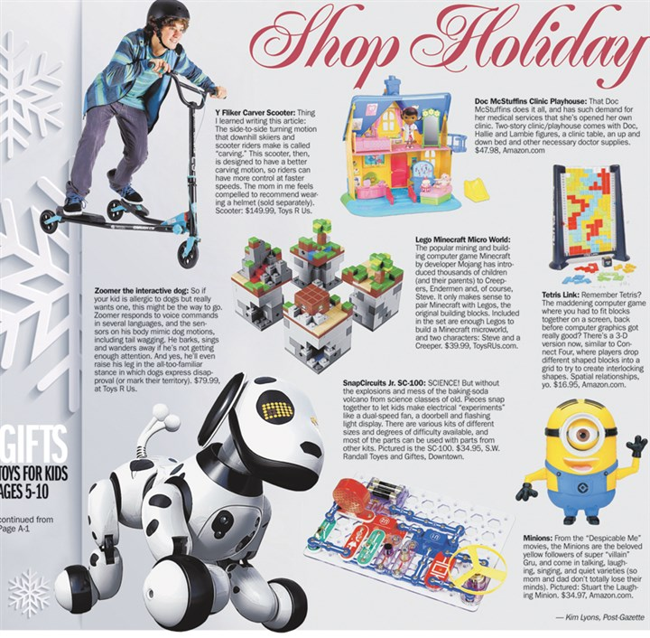 Shop Holiday: Gifts for kids, 5-10