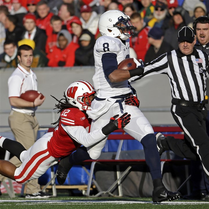 psu1203 Penn State's Allen Robinson was named the Big Ten's receiver of the year for the second consecutive season.