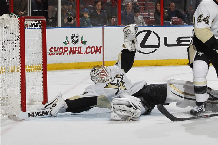 Jeff Zatkoff Penguins backup goaltender Jeff Zatkoff hasn't been called on -- yet -- in the postseason.