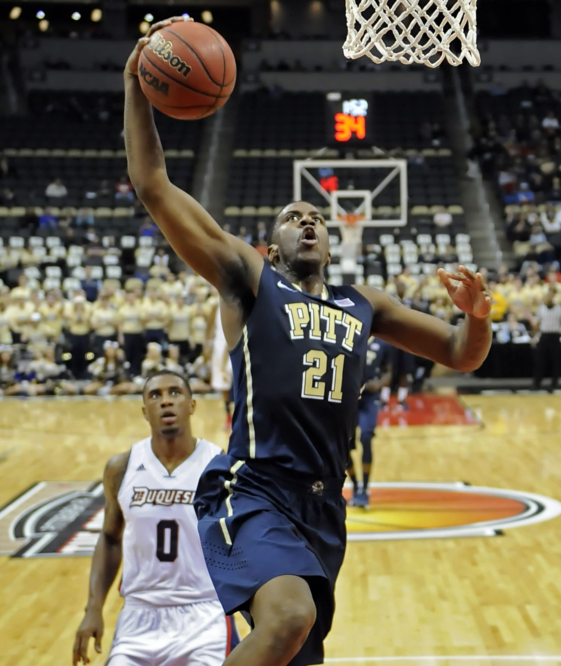 Lunardi says Pitt is in, Lamar Patterson isn't going to take his word for it.