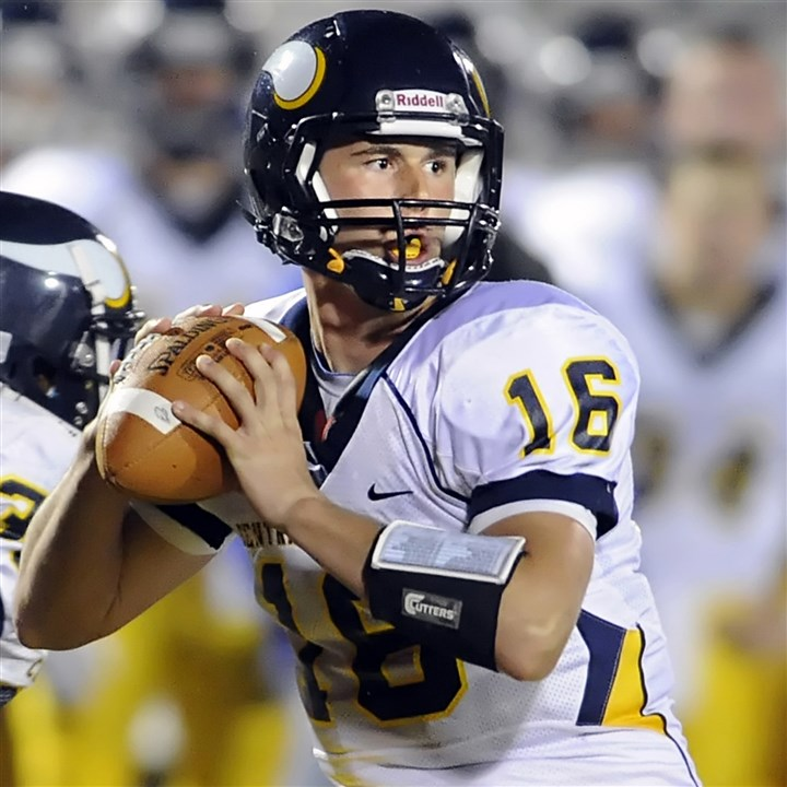 cosentino0129 Quarterback J.J. Cosentino is one of three Central Catholic standouts picked to play in the annual Big 33 game.