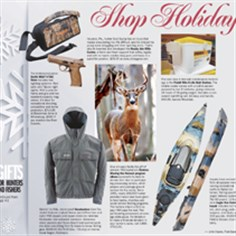 Shop Holiday 2013: Gifts for hunters and fishers Shop Holiday 2013: Gifts for hunters and fishers