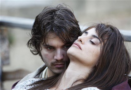 "People-Penelope Cruz Emile Hirsch, as Diego, and Penelope Cruz, as Gemma, in the film, ""Twice Born."""