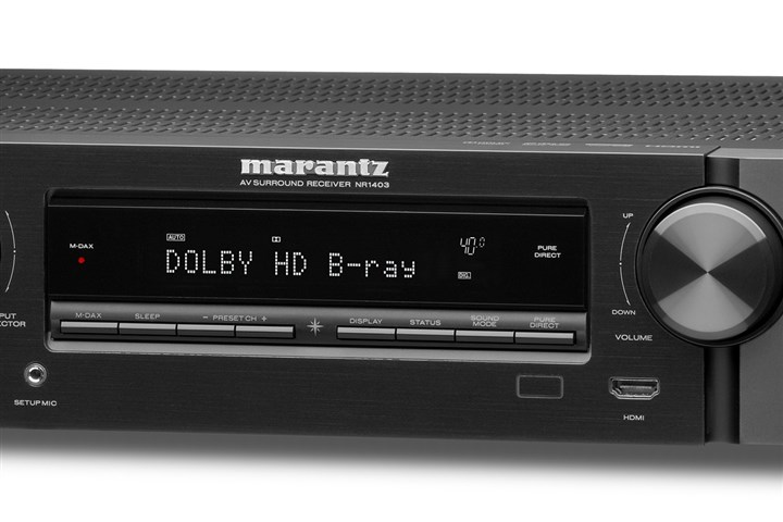 20131205lindich1206bizmarantznr1403 Marantz NR1403 Home Theater Receiver, $399