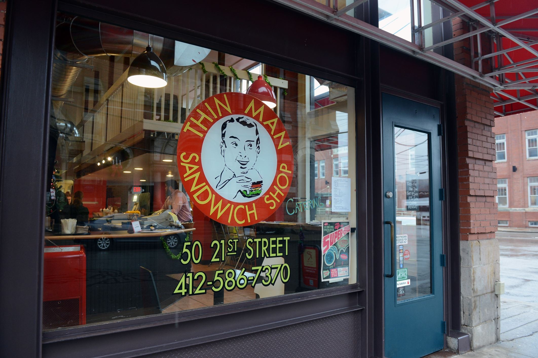 20131205dbwThinMag03-2 Thin Man Sandwich Shop, owned by Dan and Sherri Leiphart, will close on Sept. 17.