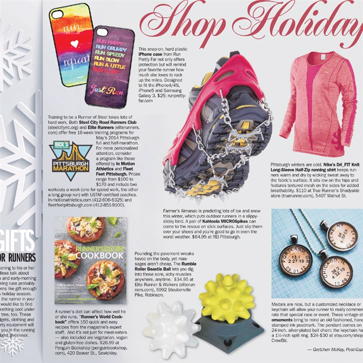 Shop Holiday: Gifts for Runners