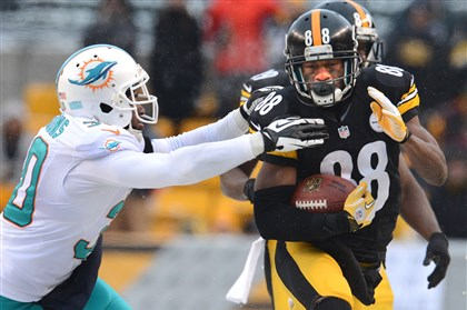 Sanders a '50-50' chance to play for Steelers on Sunday