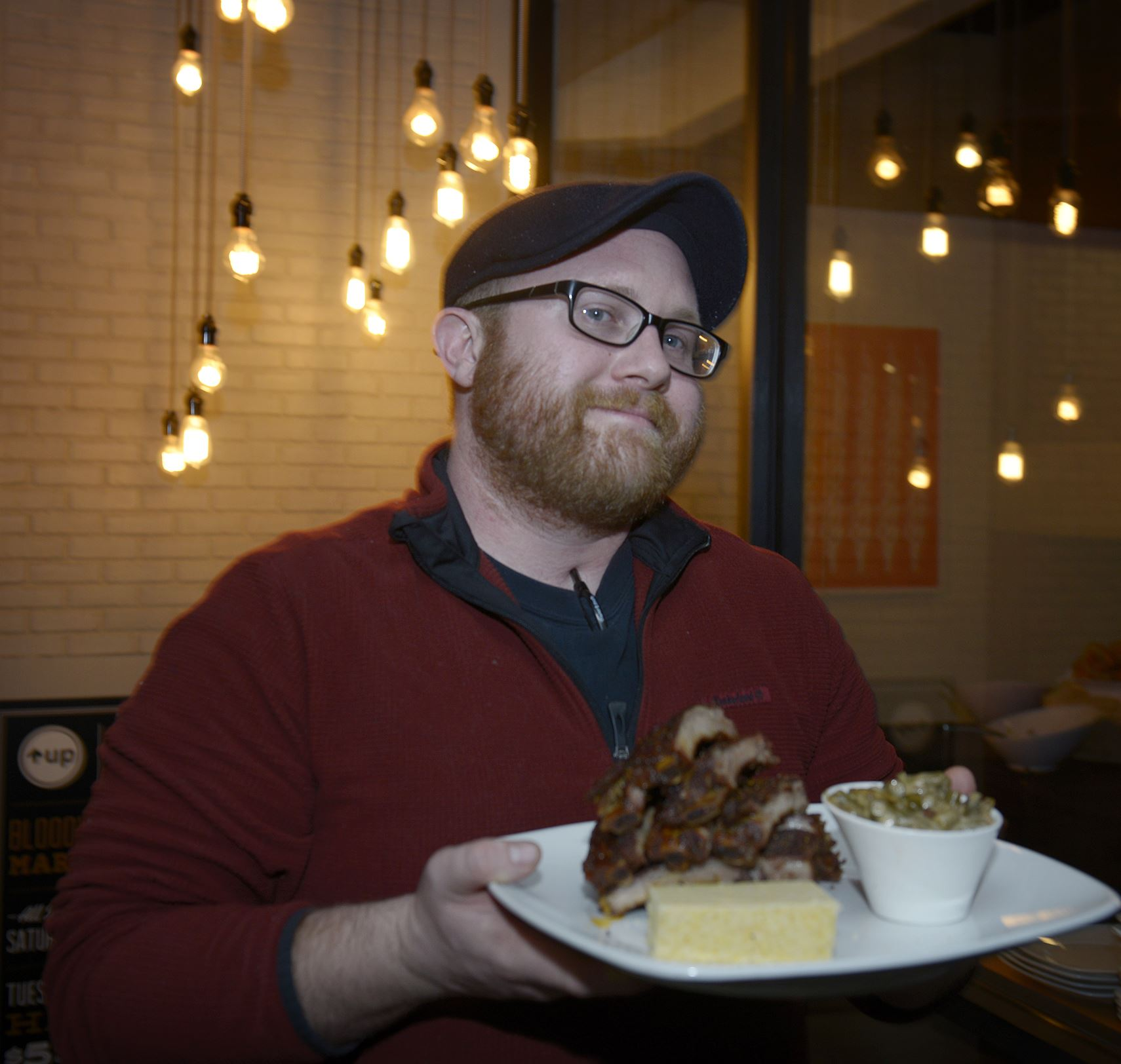 20131208jrUpMag2-1 Jared Lordon, 33, is owner and operator of Allegheny City Smokehouse.