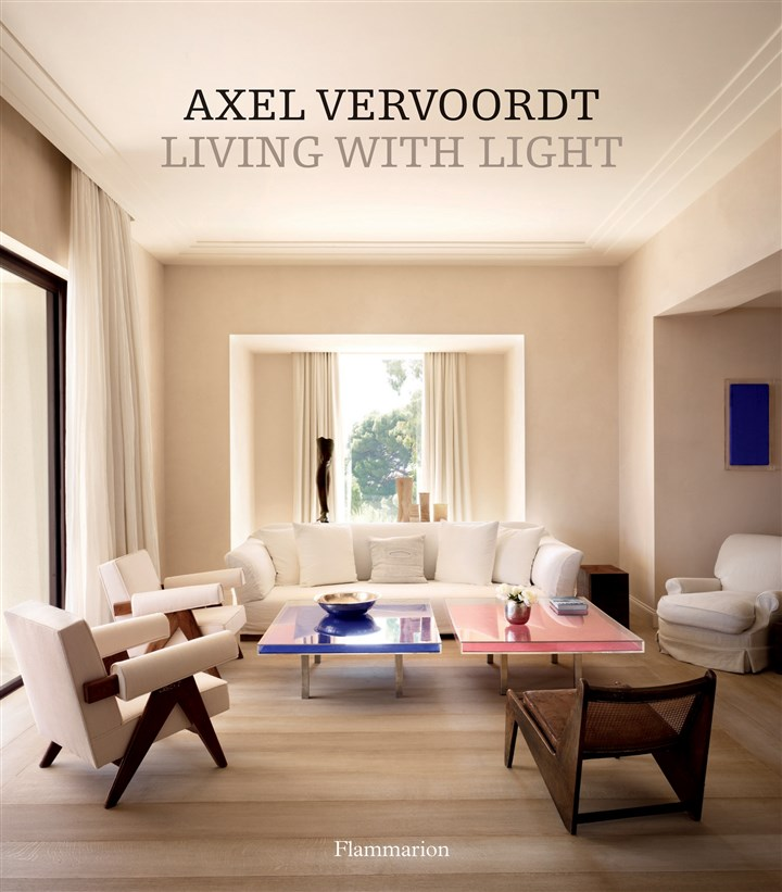 "Vervoord book ""Living with Light,"" by Axel Vervoordt."