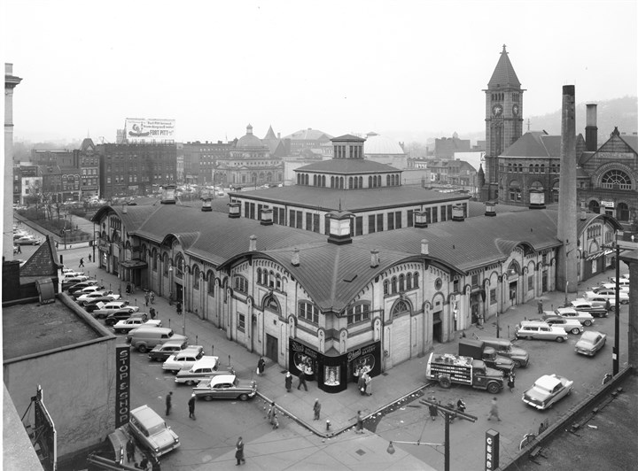 The Allegheny Market House, demolished in 1966 The Allegheny Market House, demolished in 1966, took up a block at the intersection of Federal and East Ohio