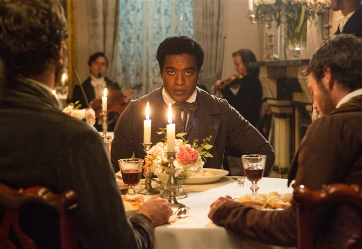 "Film-SAG Awards Chiwetel Ejiofor in a scene from ""12 Years A Slave."""