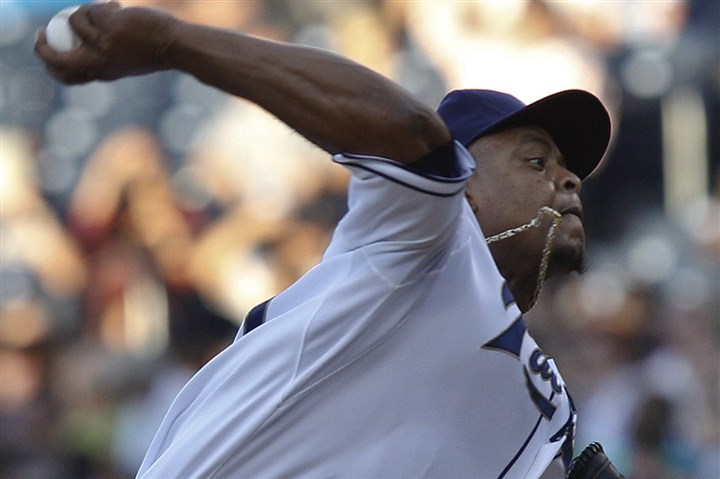 volquez1212 The Pirates signed former Reds, Padres and Dodgers starter Edinson Volquez to a one-year contract Wednesday.