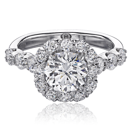 Maria hanslovan engagement ring