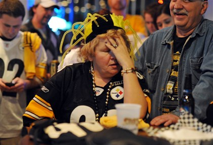 8s700kix Whether it's a win or a loss, Steelers fans react on the extreme end of the spectrum.