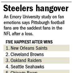 Love hangover: Team emotions
