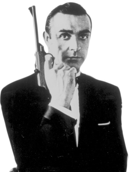 BondConnery Sean Connery as James Bond.