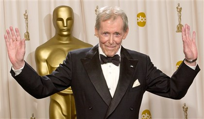 Peter O'Toole, 2003 Peter O'Toole appears backstage without his Oscar after receiving the Academy Award's Honorary Award during the 75th annual Academy Awards in Los Angeles in 2003.