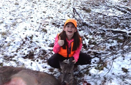Maddison Joyce Maddison Joyce, 10, of South Fayette took her first deer in Washington County while participating in the state's Mentored Youth hunting program.