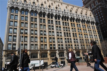 Union Trust Building The Union Trust Building facing Grant Street, Downtown.