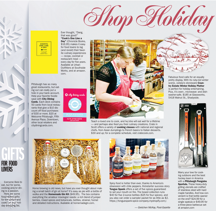 Shop Holiday 2013 Gifts For Chefs Pittsburgh Post Gazette
