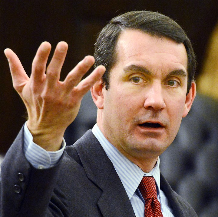 20131218dsDePasqualeLocal Auditor General Eugene DePasquale said making minimum hourly wages greater than $7.25 would boost the state's economy and provide an alternative way to help state government's bottom line.