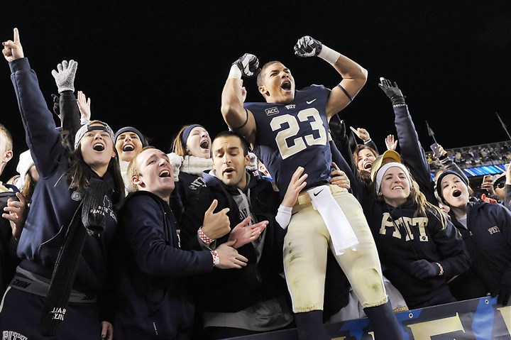Tyler Boyd and Pitt fans Pitt's Tyler Boyd was named to the All-ACC second team at the end of the 2013 season but was left off this preseason's squad.