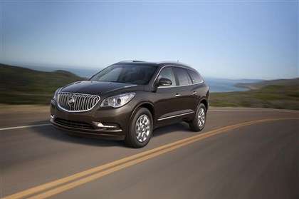 BuickEnclave-2 Exterior: The 2014 Buick Enclave carries over without much change from the 2013 model.