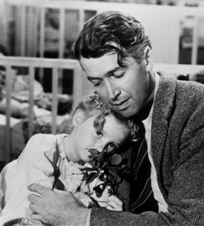 "Life Karolyn Grimes played James Stewarts daughter in the 1946 classic ""It's a Wonderful Life."""