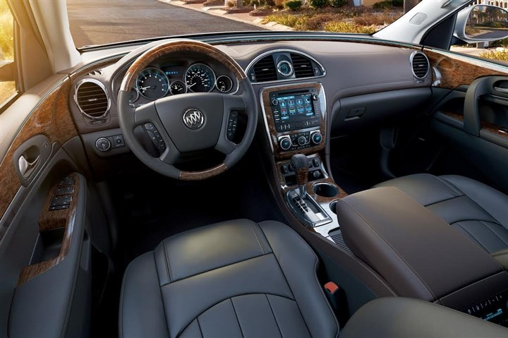 BuickEnclave2-3 Interior: Inside the 2014 Buick Enclave lies an interior both luxurious and spacious, although some of the features function in a less-than-ideal manner.