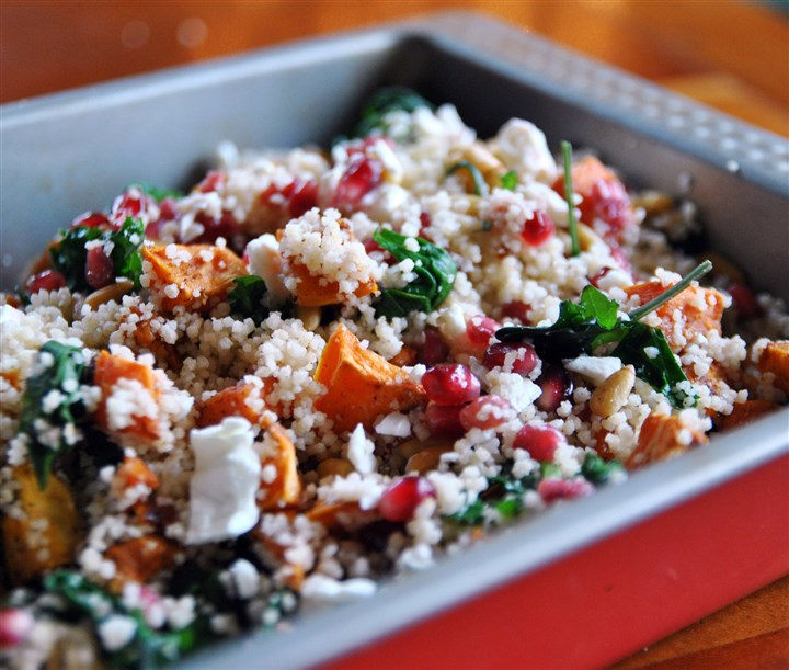 Couscous Salad Winter Couscous Salad :
