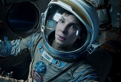 "Gravity Sandra Bullock in ""Gravity."""