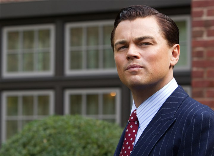 "THE WOLF OF WALL STREET Leonardo DiCaprio is Jordan Belfort in""The Wolf of Wall Street."""