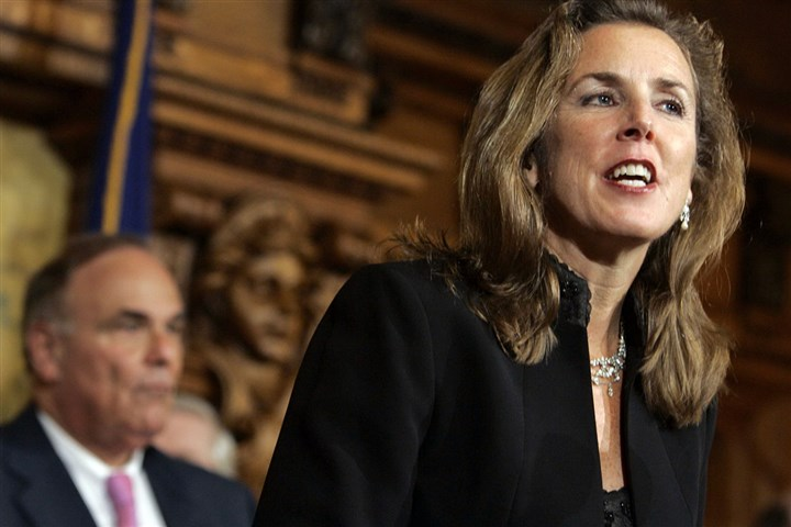 Energy Katie McGinty, former secretary for the state Department of Environmental Protection, says shes up to the challenge of being governor.