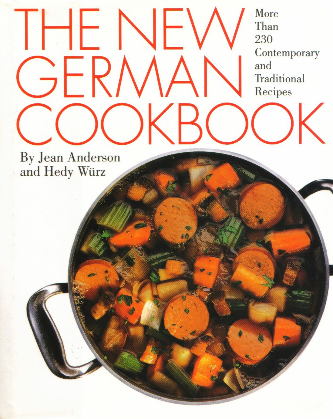 "Germancookbook ""The New German Cookbook"" by Jean Anderson"