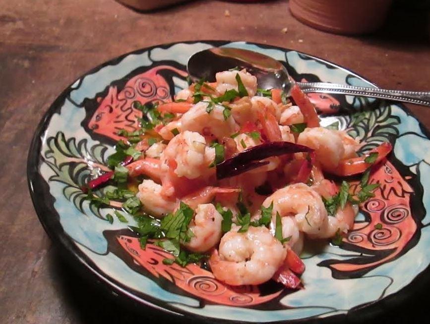 Shrimp Sizzling Shrimp.