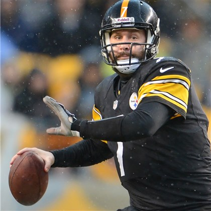 Steelers quarterback Ben Roethlisberger  Steelers quarterback Ben Roethlisberger scrambles against the Browns in the fourth quarter of a game at Heinz Field in December.