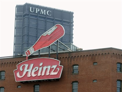 web_heinz2-3 Senator John Heinz History Center in the Strip District has the old Heinz sign attached. The U.S. Steel Tower with UPMC offices is in the background in Downtown Pittsburgh.
