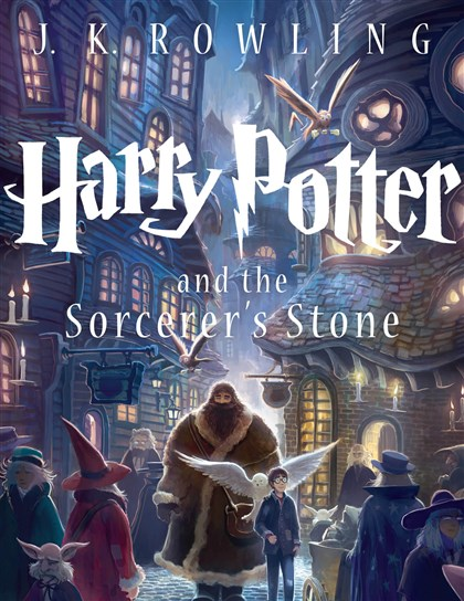 "Potter ""Harry Potter and the Sorcerer's Stone"" hit the American market in 1998 and became a sensation."