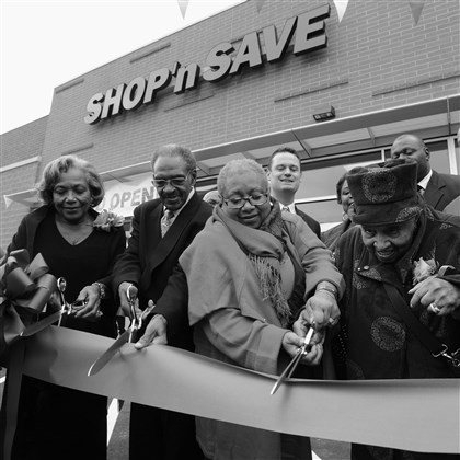 portfolio1231.jpg The Hill District celebrated the opening of a Shop 'n Save in October.