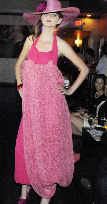 Styleweek A model at Style Week Pittsburgh.