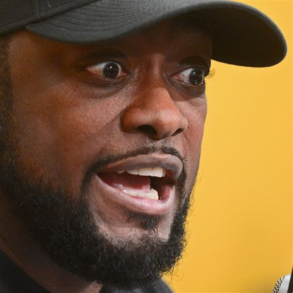 Mike Tomlin presser Steelers head coach Mike Tomlin speaks with reporters Monday at his last weekly news conference of the season.