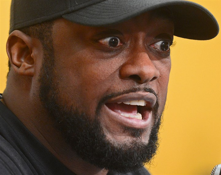 Mike Tomlin presser Steelers head coach Mike Tomlin at his last weekly news conference of the season.