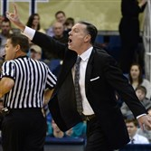 Pitt head coach Jamie Dixon calls a play out to his team in a game last season at Petersen Events Center.