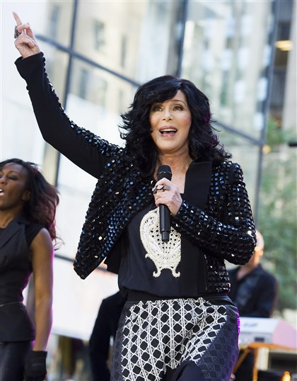 Cher Cher will come to town on April 2, performing at the Consol Energy Center