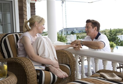 "Jasmine Cate Blanchett and Alec Baldwin in ""Blue Jasmine."""