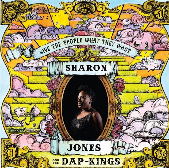 SharonJones Sharon Jones and the Dap-Kings.