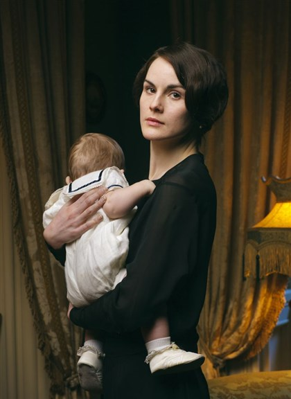 "Dockery   Michelle Dockery plays Lady Mary in ""Downton Abbey."""