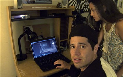 "Paranormal Activity: The Marked Ones A scene from the horror thriller, ""Paranormal Activity: The Marked Ones,"" written and directed by Christopher. B. Landon."